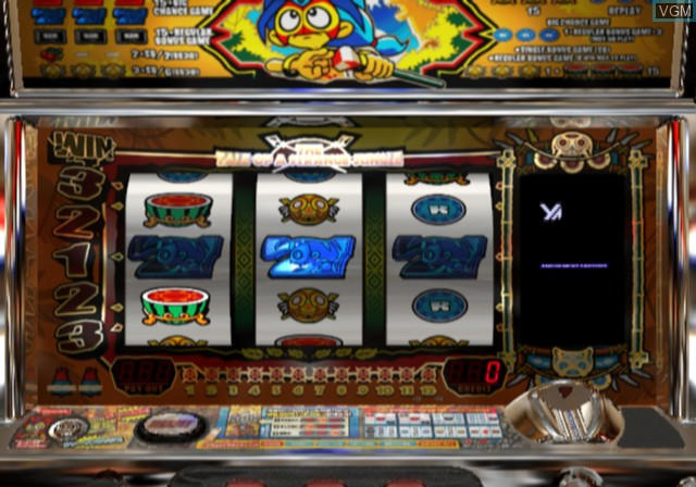 In-game screen of the game Yamasa Digi World 4 on Sony Playstation 2