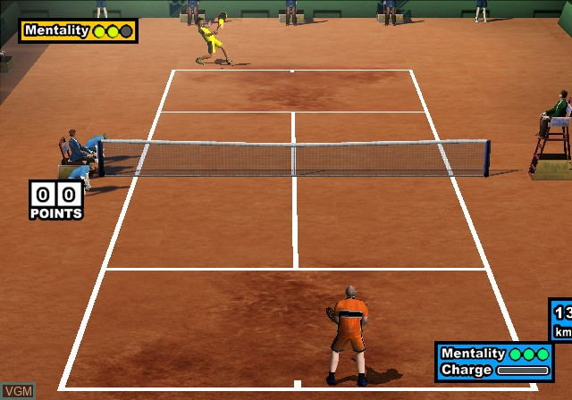 In-game screen of the game Magical Sports - Hard Hitter on Sony Playstation 2