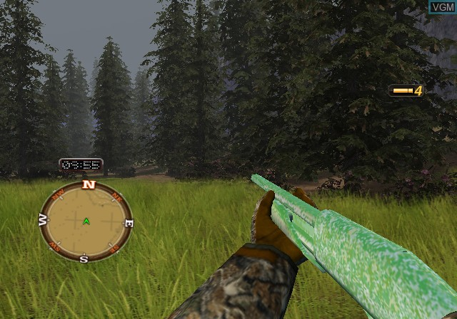 In-game screen of the game Cabela's North American Adventures on Sony Playstation 2