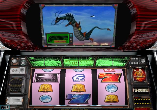 In-game screen of the game Pachi-Slot King! Kagaku Ninja-Tai Gatchaman on Sony Playstation 2