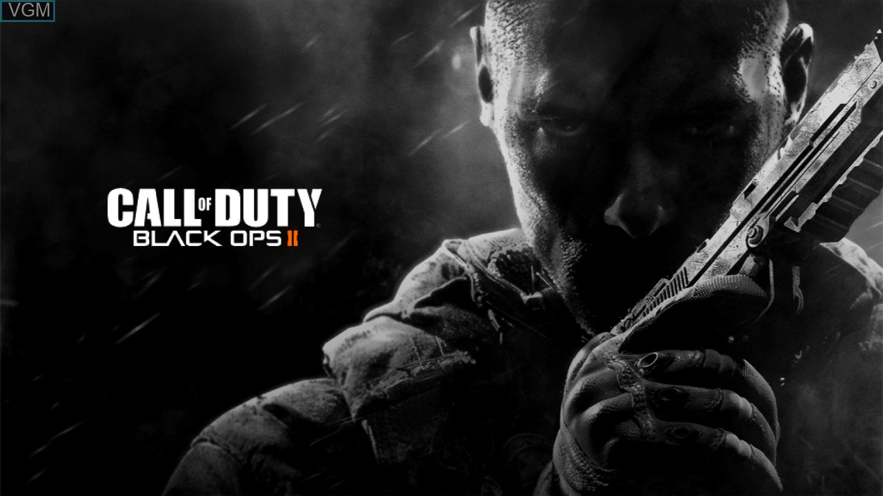 Title screen of the game Call of Duty - Black Ops II on Sony Playstation 3