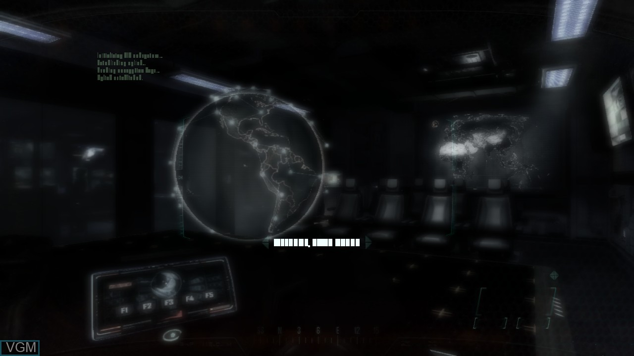 Menu screen of the game Call of Duty - Black Ops II on Sony Playstation 3