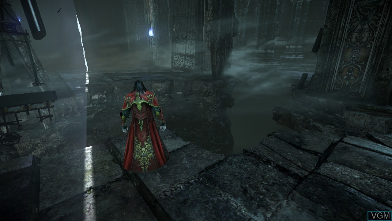 In-game screen of the game Castlevania - Lords of Shadow 2 on Sony Playstation 3