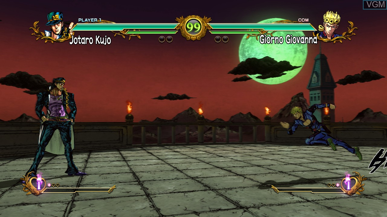 JoJo's Bizarre Adventure All-Star Battle