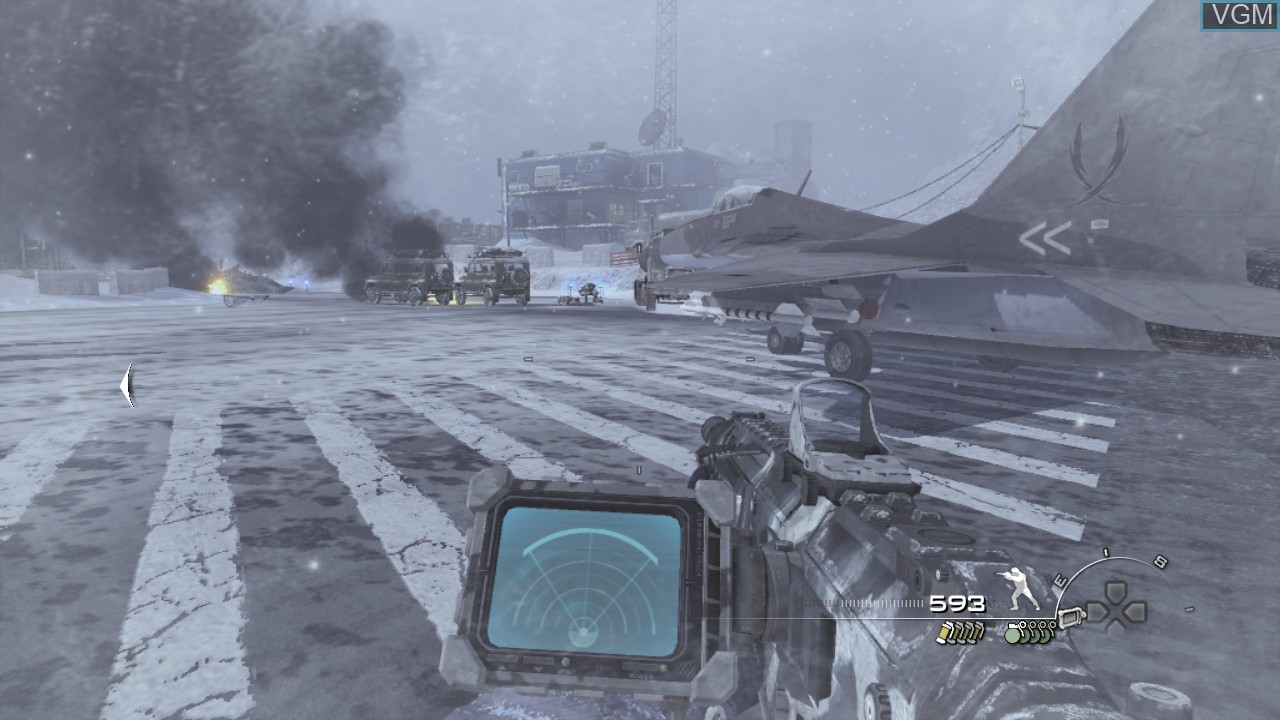 In-game screen of the game Call of Duty - Modern Warfare 2 on Sony Playstation 3