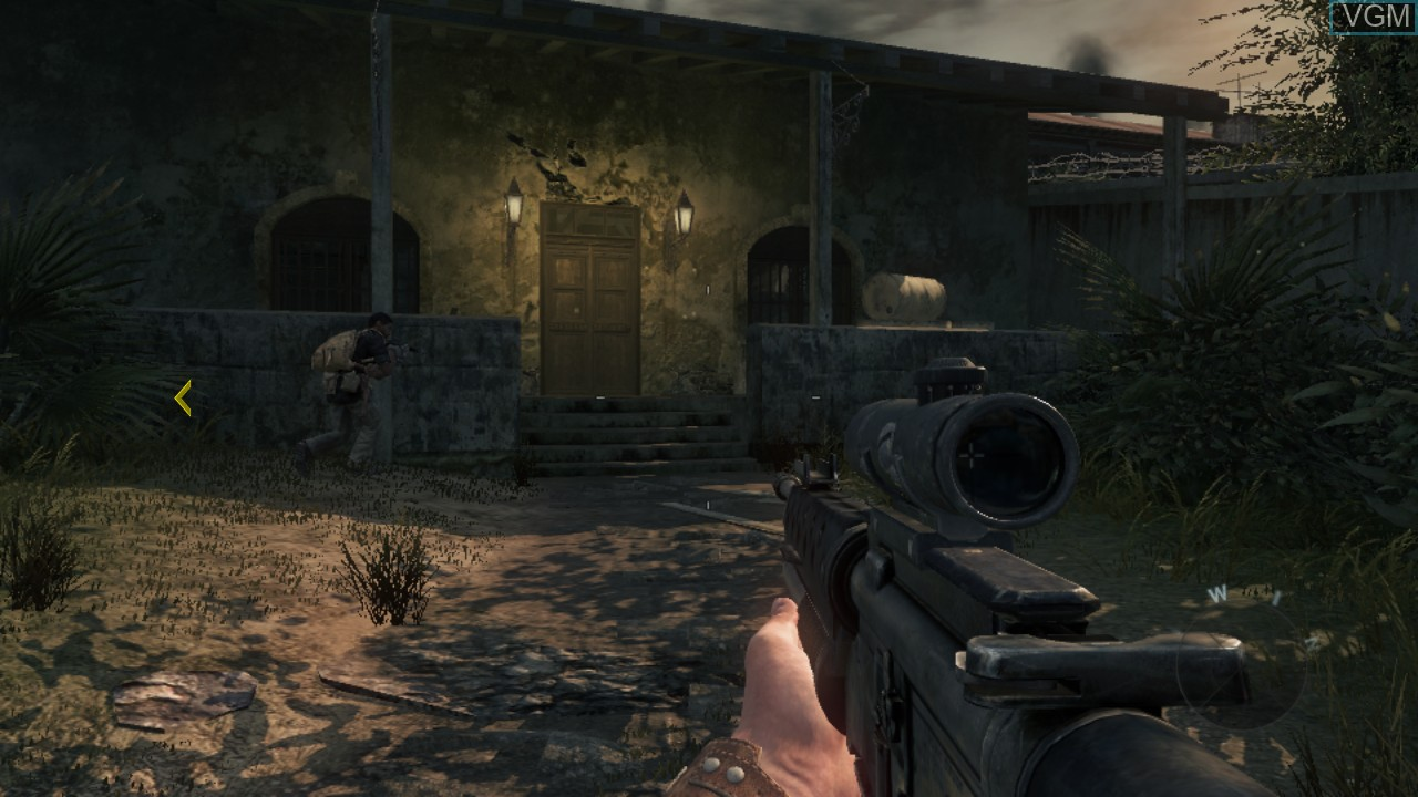 In-game screen of the game Call of Duty - Black Ops on Sony Playstation 3