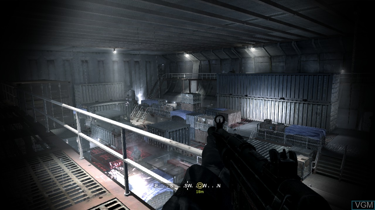 In-game screen of the game Call of Duty 4 - Modern Warfare on Sony Playstation 3