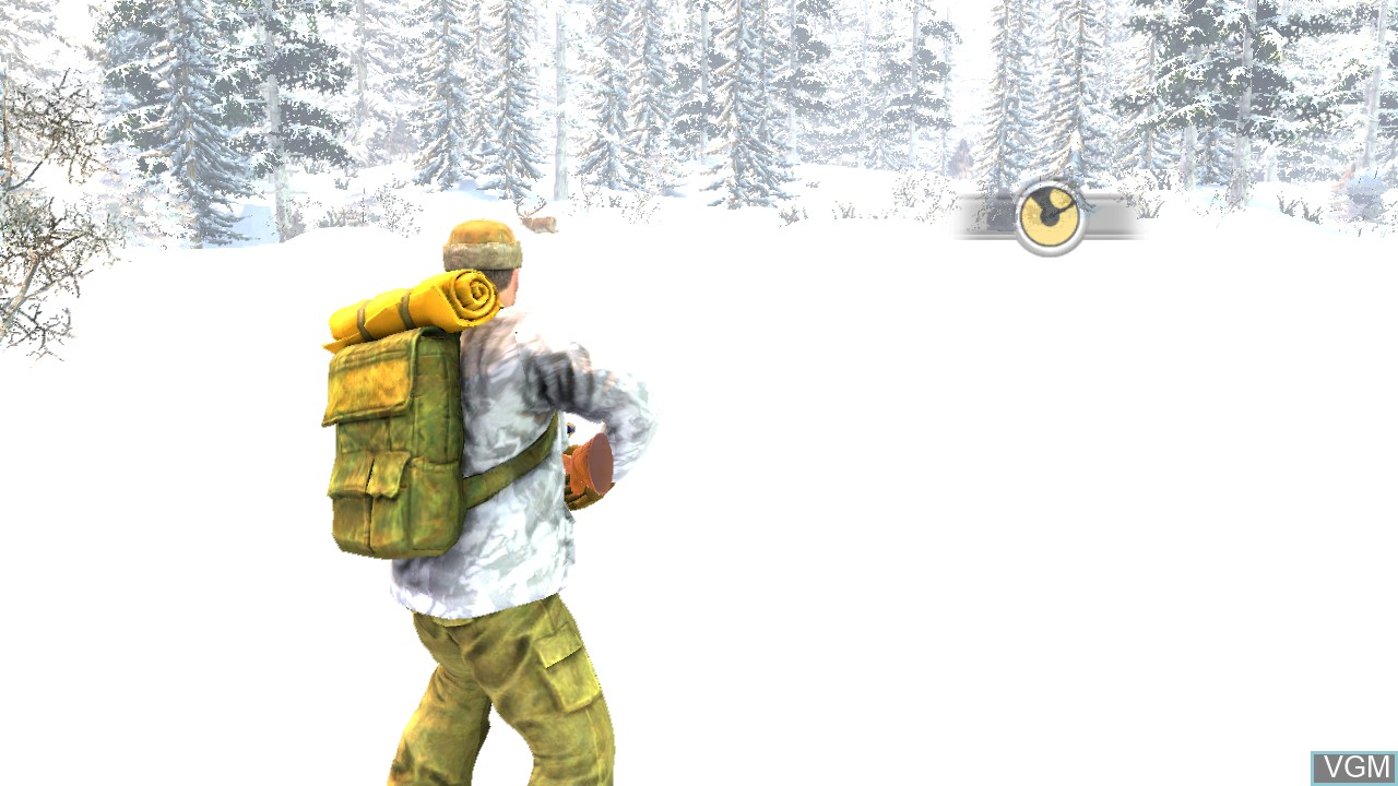 In-game screen of the game Cabela's Dangerous Adventures on Sony Playstation 3