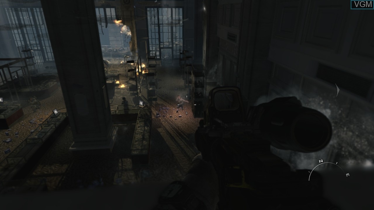 In-game screen of the game Call of Duty - Modern Warfare 3 on Sony Playstation 3