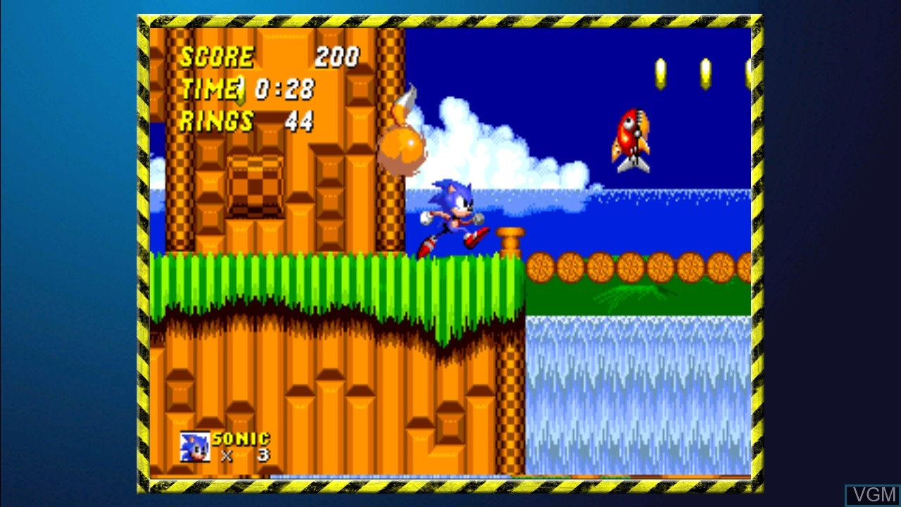 In-game screen of the game SEGA Mega Drive Ultimate Collection on Sony Playstation 3