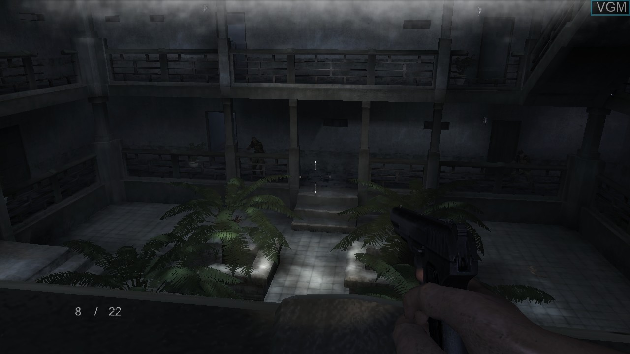 In-game screen of the game ShellShock 2 - Blood Trails on Sony Playstation 3