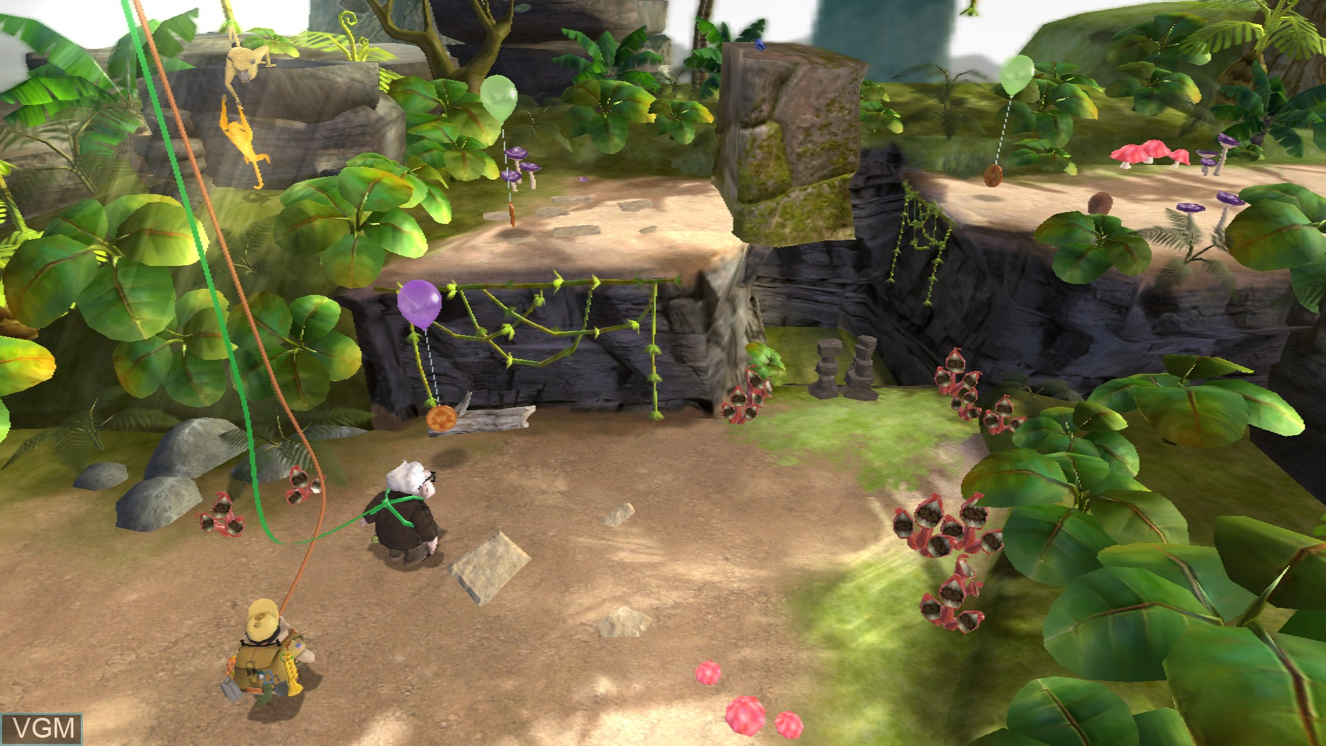 In-game screen of the game Up on Sony Playstation 3
