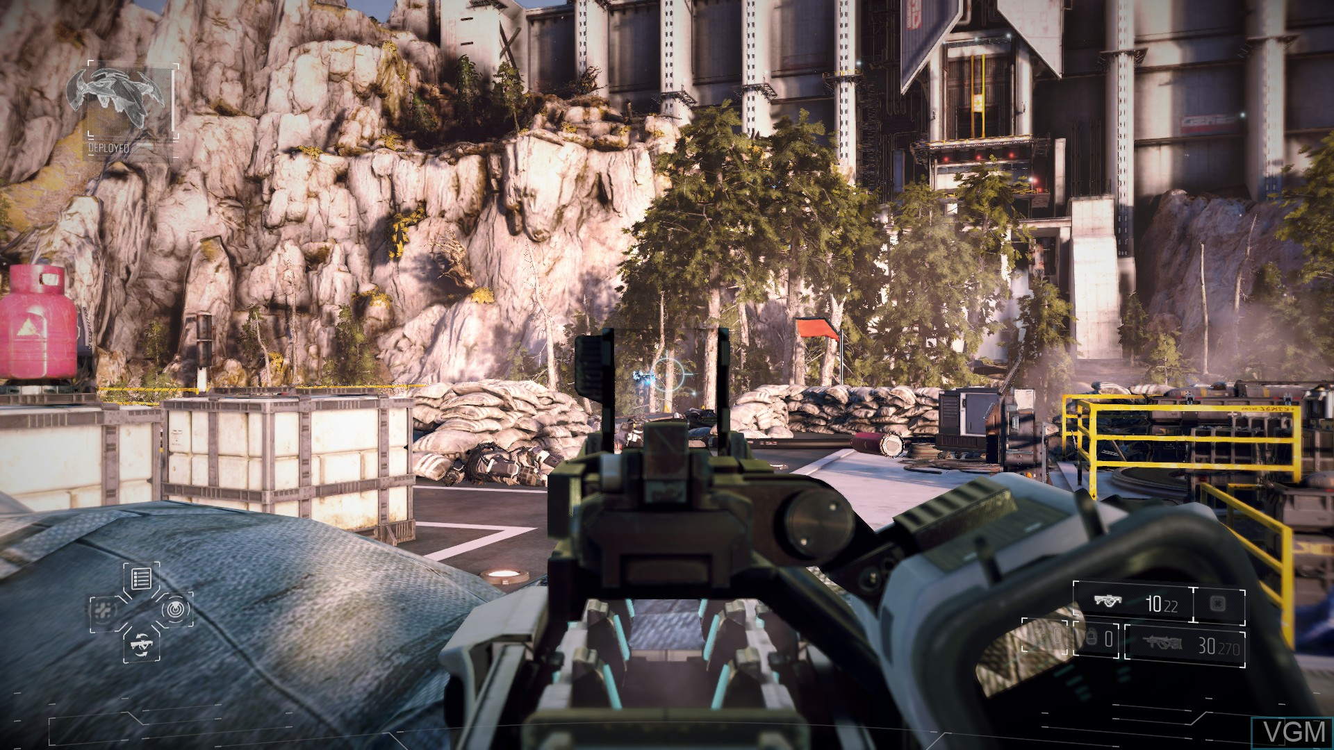 In-game screen of the game Killzone - Shadow Fall on Sony Playstation 4