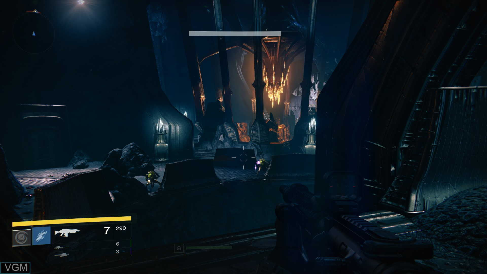 In-game screen of the game Destiny on Sony Playstation 4