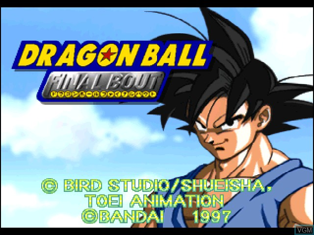 Dragon Ball - Final Bout for Sony Playstation - The Video