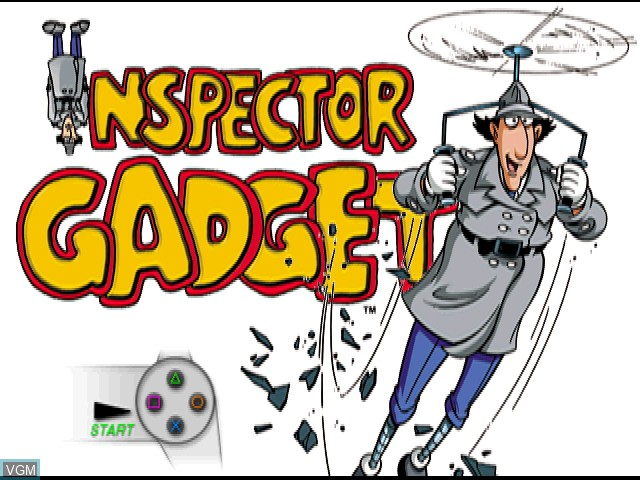 Inspector Gadget - Gadget's Crazy Maze for Sony Playstation
