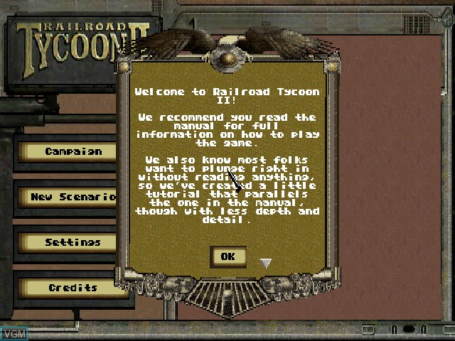 Railroad Tycoon II for Sony Playstation - The Video Games Museum