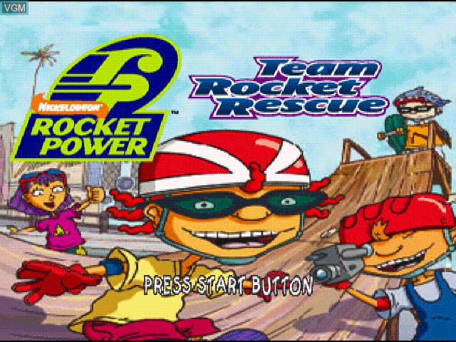 Nickelodeon Rocket Power Team Rocket Rescue For Sony Playstation The Video Games Museum