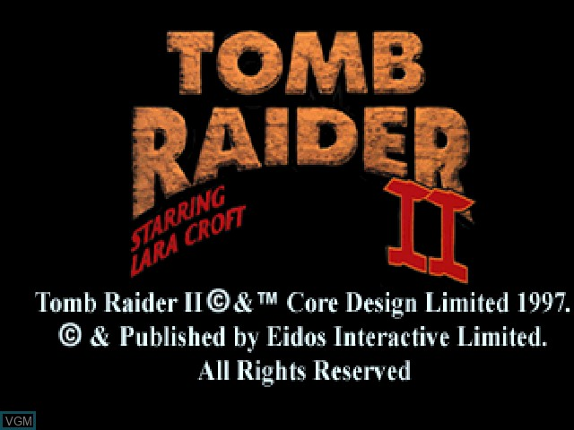 tomb raider ps1 poster