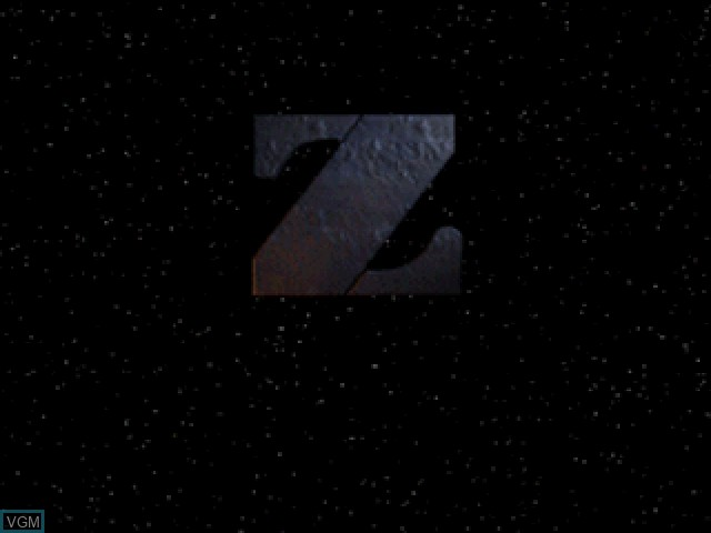 Title screen of the game Z on Sony Playstation