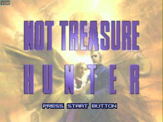 Title screen of the game Not Treasure Hunter on Sony Playstation