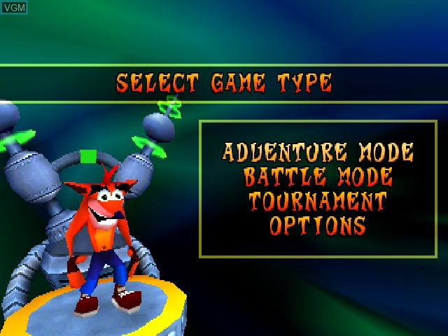 Crash Bash for Sony Playstation - The Video Games Museum