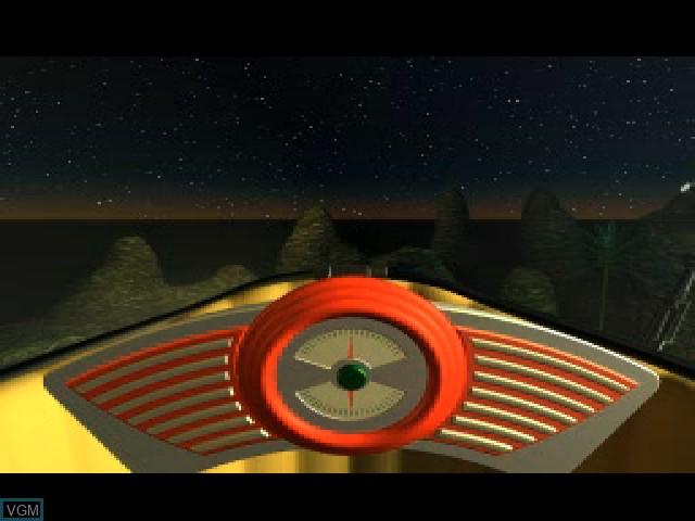 Menu screen of the game Lifescape - Seimei 40 Okunen Haruka na Tabi on Sony Playstation