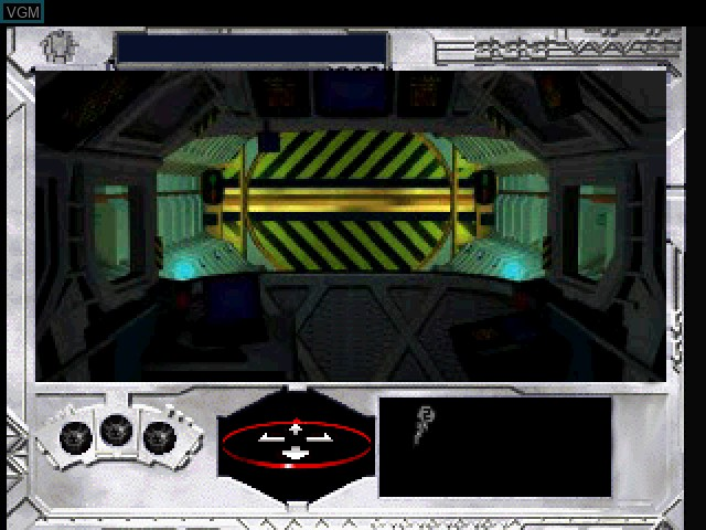 Menu screen of the game Uchuu no Rendezvous - Rama on Sony Playstation