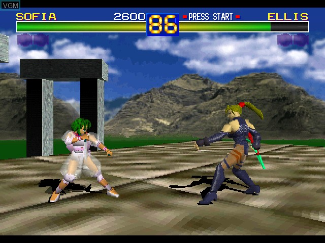 Battle Arena Toshinden For Sony Playstation The Video Games Museum