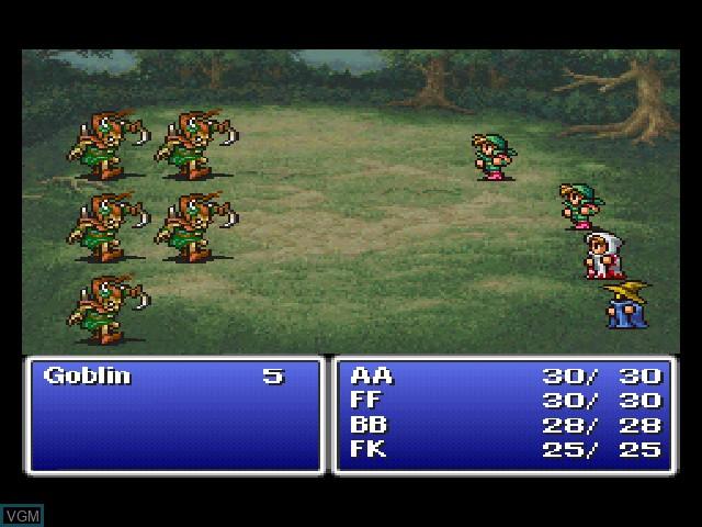 Final Fantasy Origins - Final Fantasy