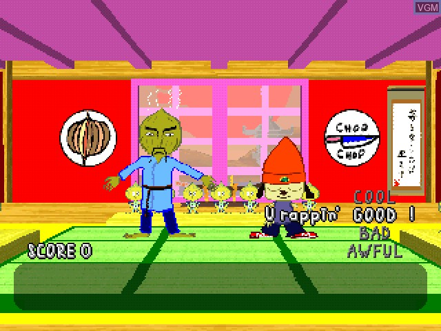 PaRappa the Rapper