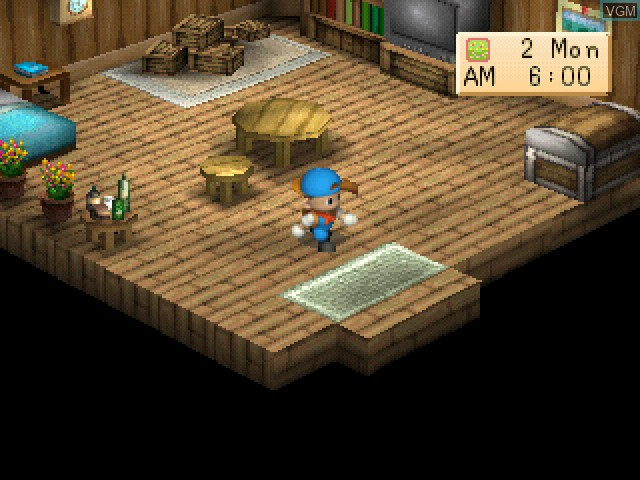 Harvest Moon - Back to Nature for Sony Playstation - The Video Games