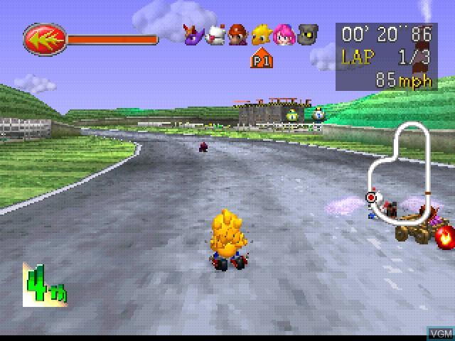 Chocobo Racing - Genkai e no Road