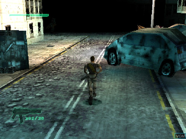 In-game screen of the game C-12 - Final Resistance on Sony Playstation