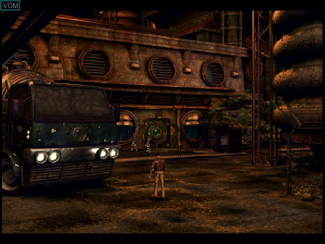 In-game screen of the game Cold Blood on Sony Playstation