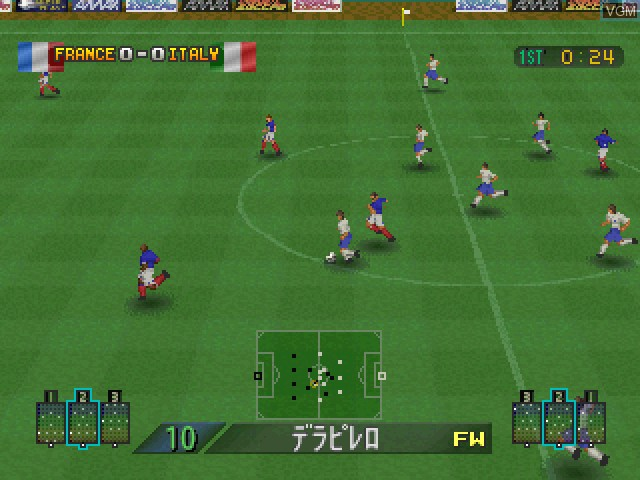 Dynamite Soccer 2002