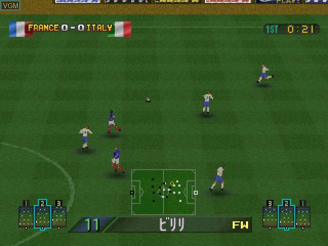 Dynamite Soccer 2004 Final