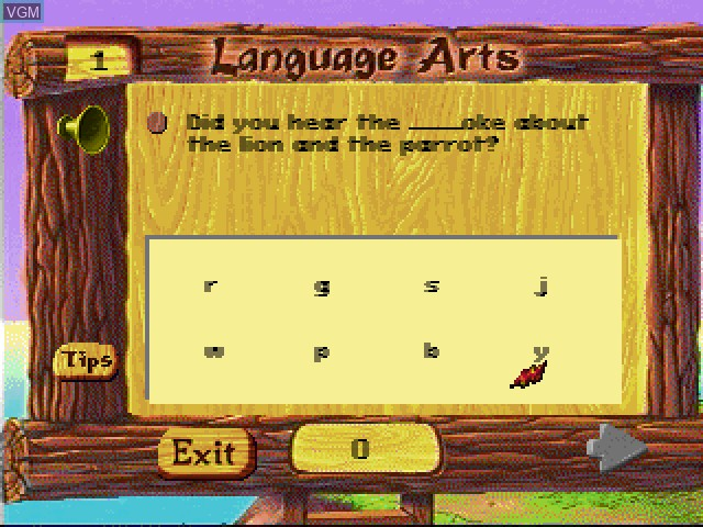 Faire Games - Language Arts
