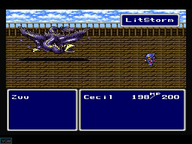 Final Fantasy Anthology - European Edition - Final Fantasy IV