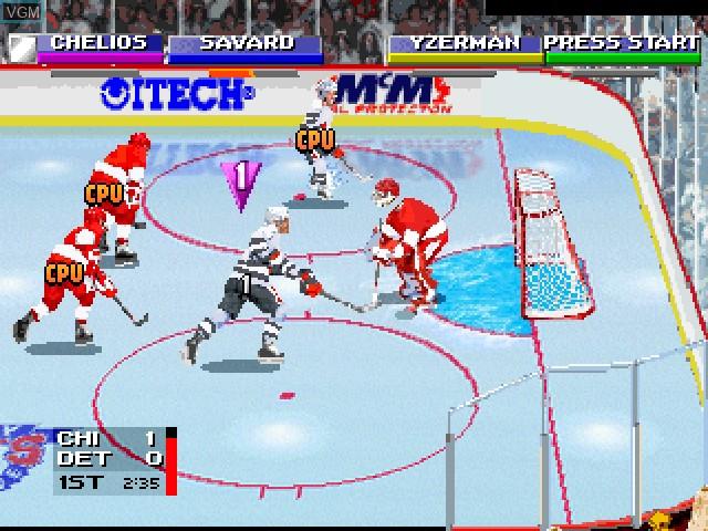 NHL Open Ice - 2 on 2 Challenge