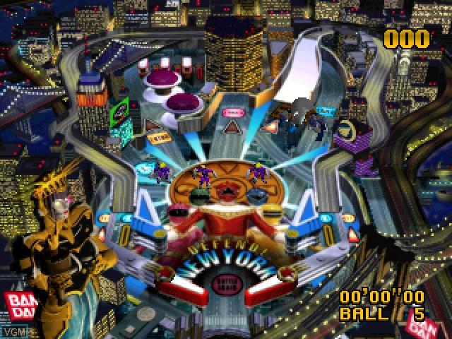 Saban's Power Rangers Zeo - Full Tilt Battle Pinball