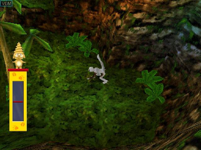 In-game screen of the game Zoboomafoo - Leapin' Lemurs! on Sony Playstation