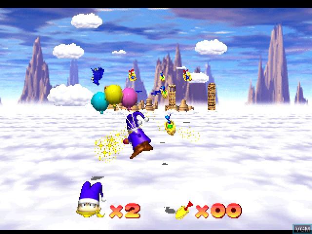In-game screen of the game Odo Odo Oddity on Sony Playstation