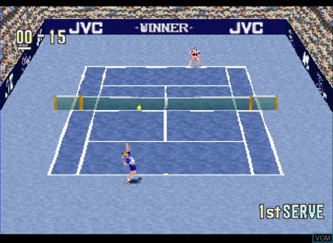 Hyper Tennis - Final Match