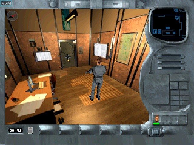In-game screen of the game Ubik on Sony Playstation
