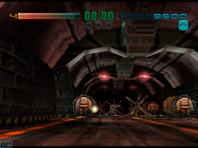 In-game screen of the game Tunnel B1 on Sony Playstation