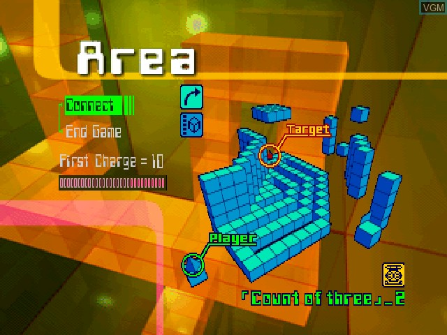 In-game screen of the game Acid on Sony Playstation