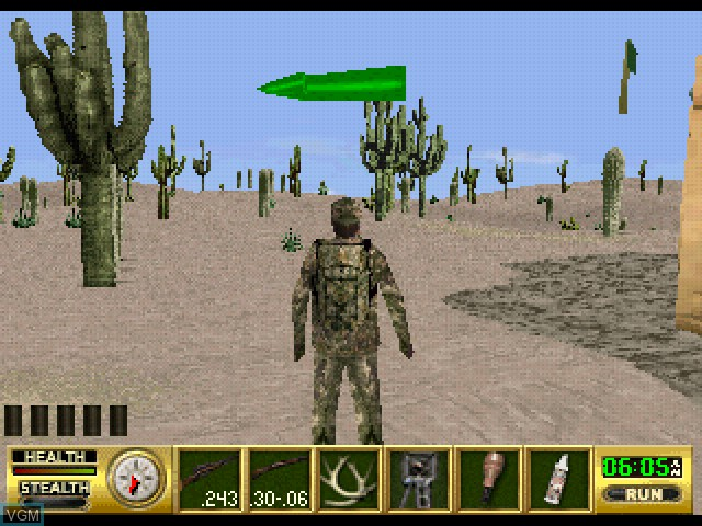 In-game screen of the game Cabela's Ultimate Deer Hunt - Open Season on Sony Playstation