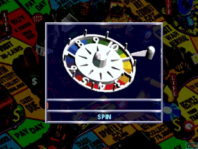 In-game screen of the game Game of Life, The on Sony Playstation