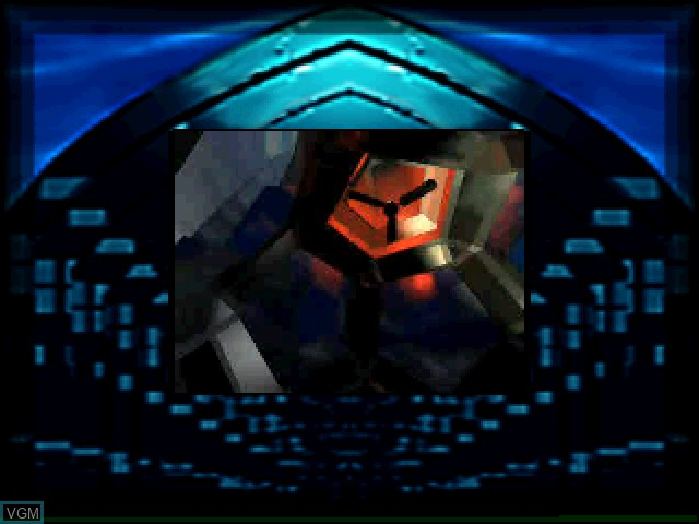 In-game screen of the game Quantum Gate I - Akumu no Joshou on Sony Playstation